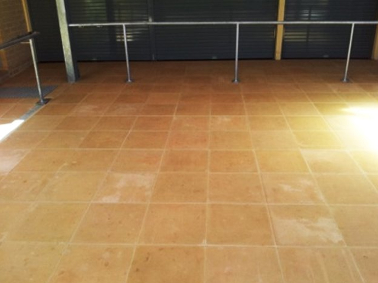 After-High Pressure Cleaning
